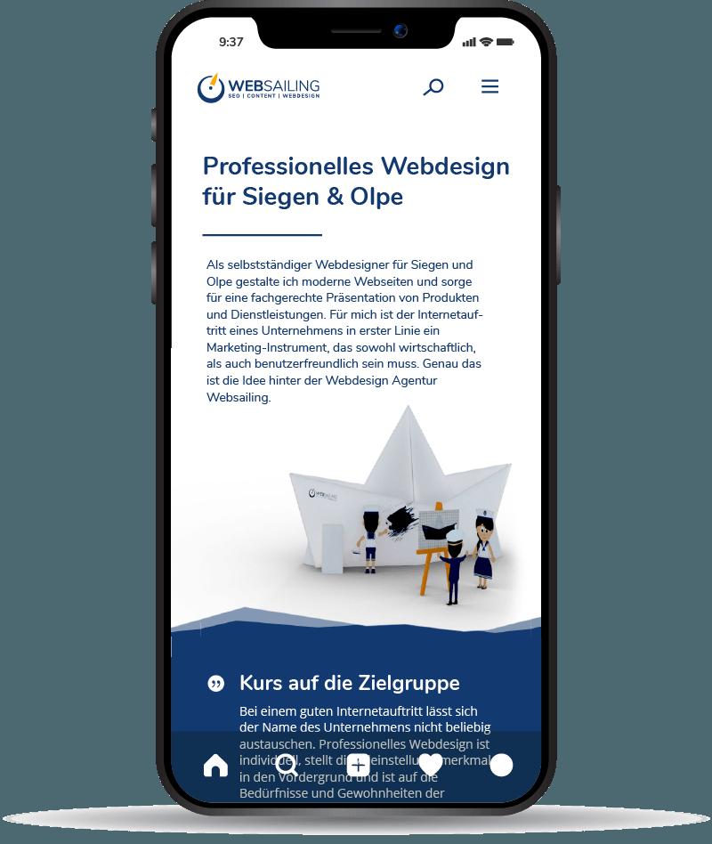 Homepage Erstellung für Siegen & Olpe
